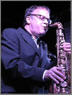 Allen Mezquida on Saxophone at the Iridium NYC - Photo by Luxury Experience